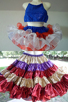 Little Girls' Petticoat, Square Dance Petticoats